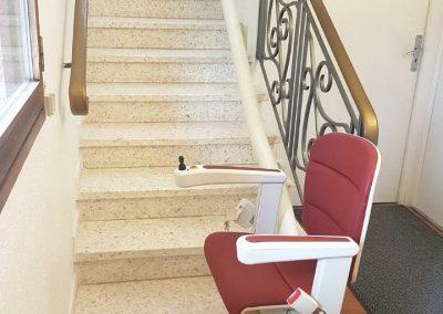 Installation d'un monte-escaliers à Sète