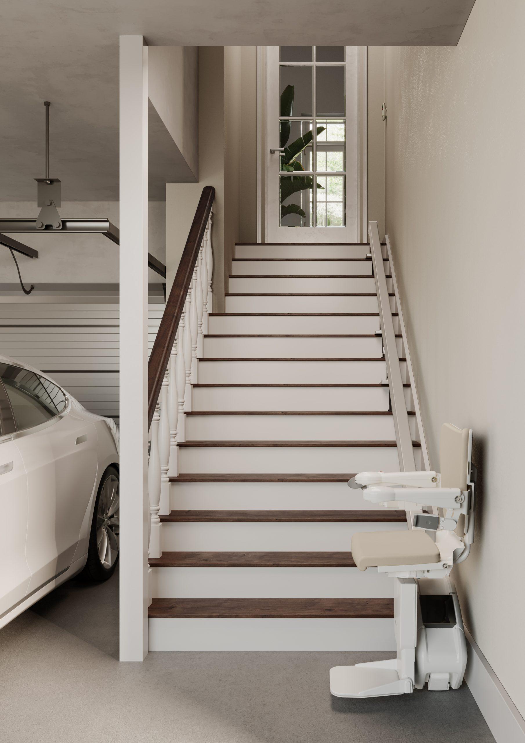 Zéro Intrusion - Monte escalier Droit